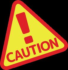 caution 注意 条件をご確認ください